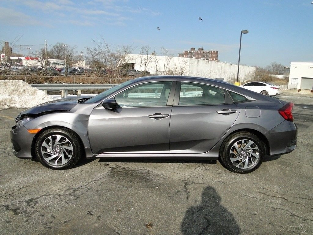 needs new front 2017 Honda Civic EX repairable