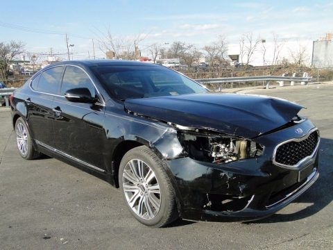 very low miles 2015 Kia Cadenza Premium Repairable for sale