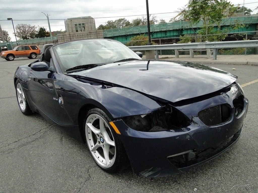 Decent Mileage 2008 Bmw Z4 3 0si Repairable For Sale