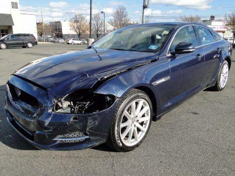 easy fix 2011 Jaguar XJ Base Sedan Repairable for sale