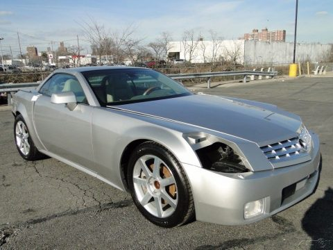 low mileage 2005 Cadillac XLR Base Convertible repairable for sale