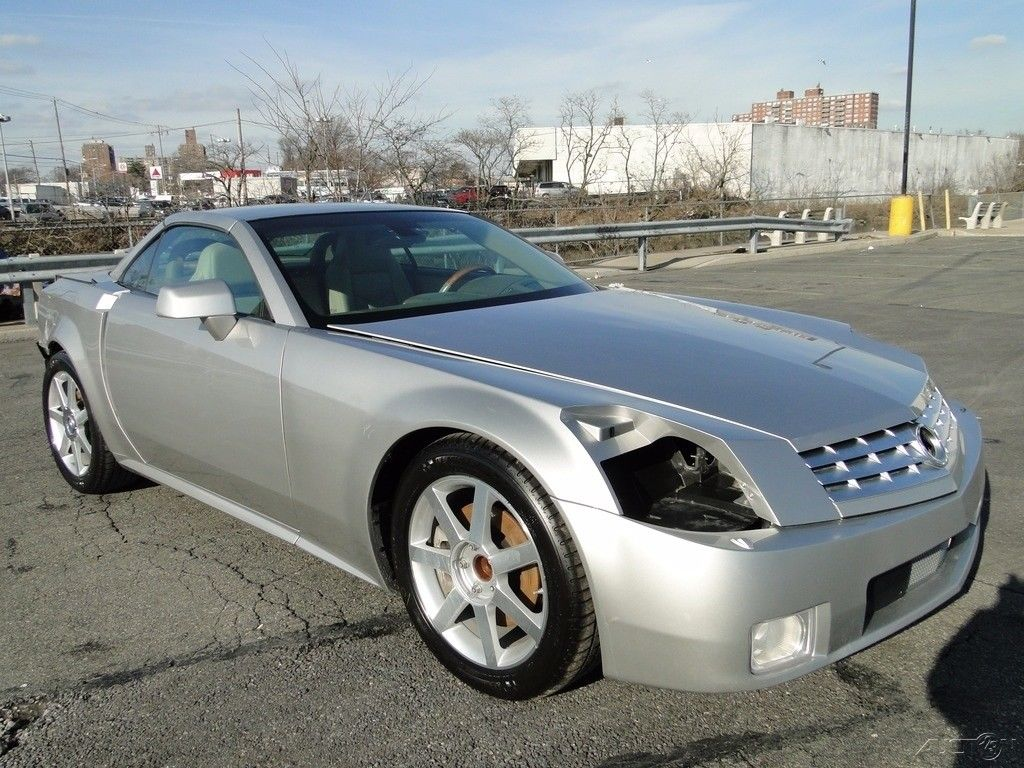 low mileage 2005 cadillac xlr base convertible repairable for sale. Black Bedroom Furniture Sets. Home Design Ideas