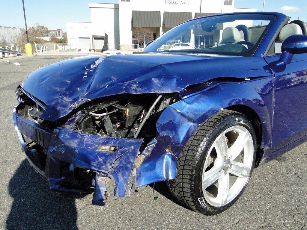 low mileage 2012 Audi TT 2.0T Premium Plus repairable