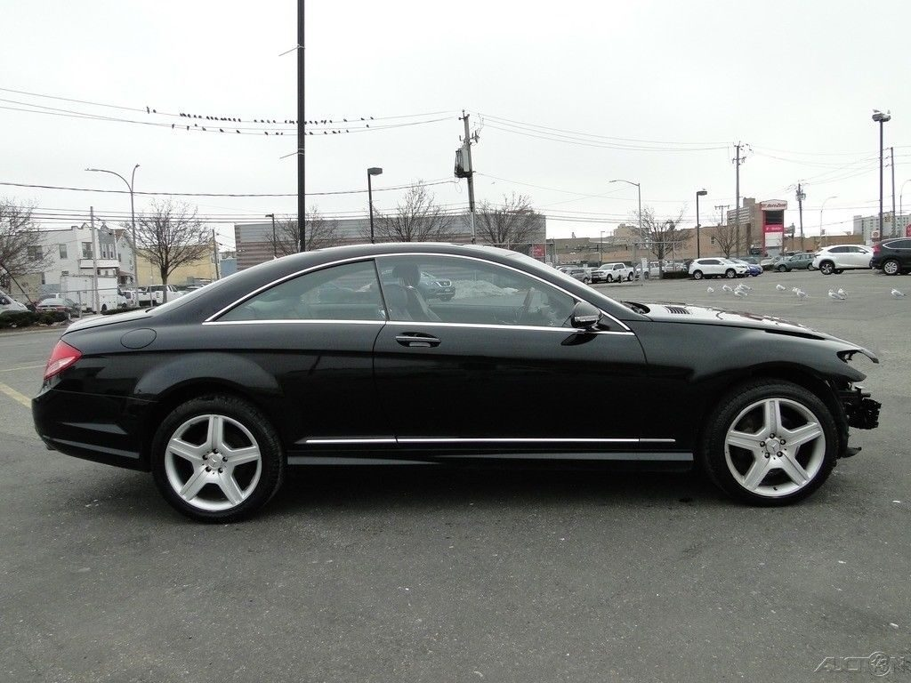 low miles 2008 Mercedes Benz CL Class CL550 repairable
