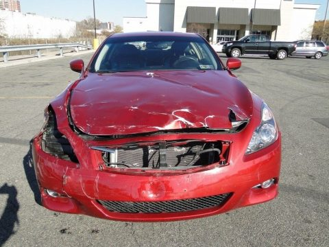 low miles 2014 Infiniti Q60 repairable for sale