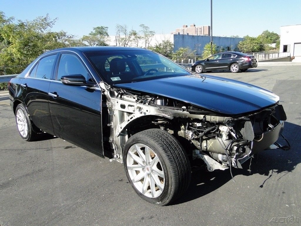 Luxury 2014 Cadillac CTS 2.0L Turbo repairable