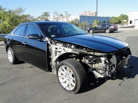 Luxury 2014 Cadillac CTS 2.0L Turbo repairable for sale