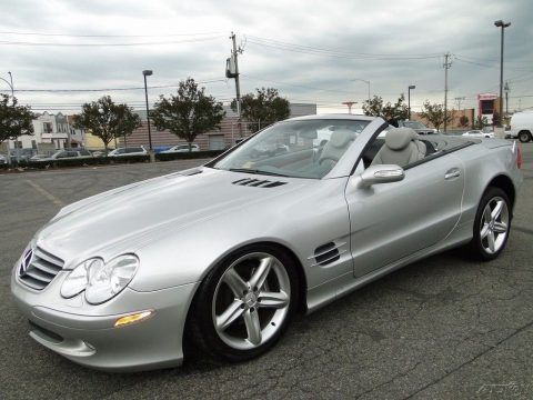 small dents 2004 Mercedes Benz SL Class SL500 repairable for sale