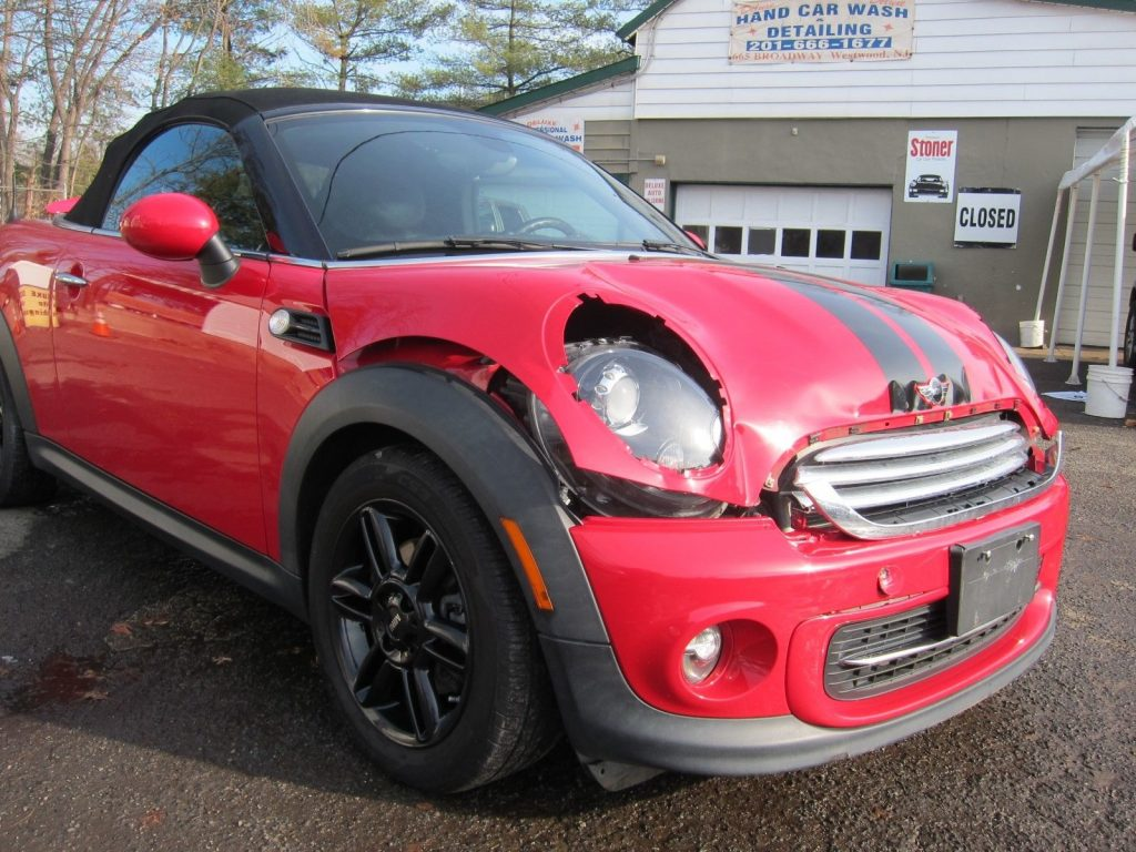 easy damage 2012 Mini Roadster Roadster repairable