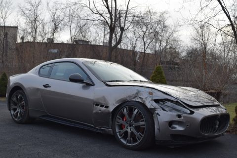 fully loaded 2010 Maserati Gran Turismo S Coupe Repairable for sale