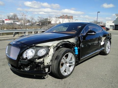 left side damage 2012 Bentley Continental GT repairable for sale
