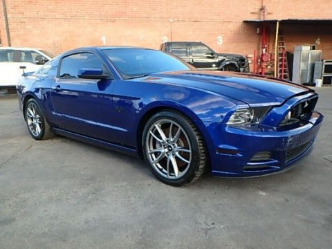 light damage 2013 Ford Mustang GT Coupe repairable for sale