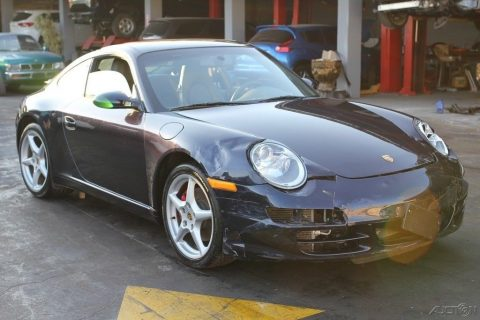 loaded 2006 Porsche 911 Carrera Coupe repairable for sale