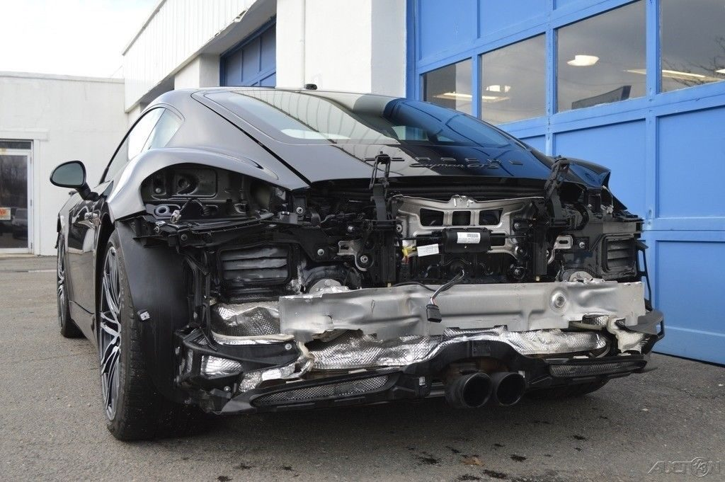 low mileage 2016 Porsche Cayman GTS repairable