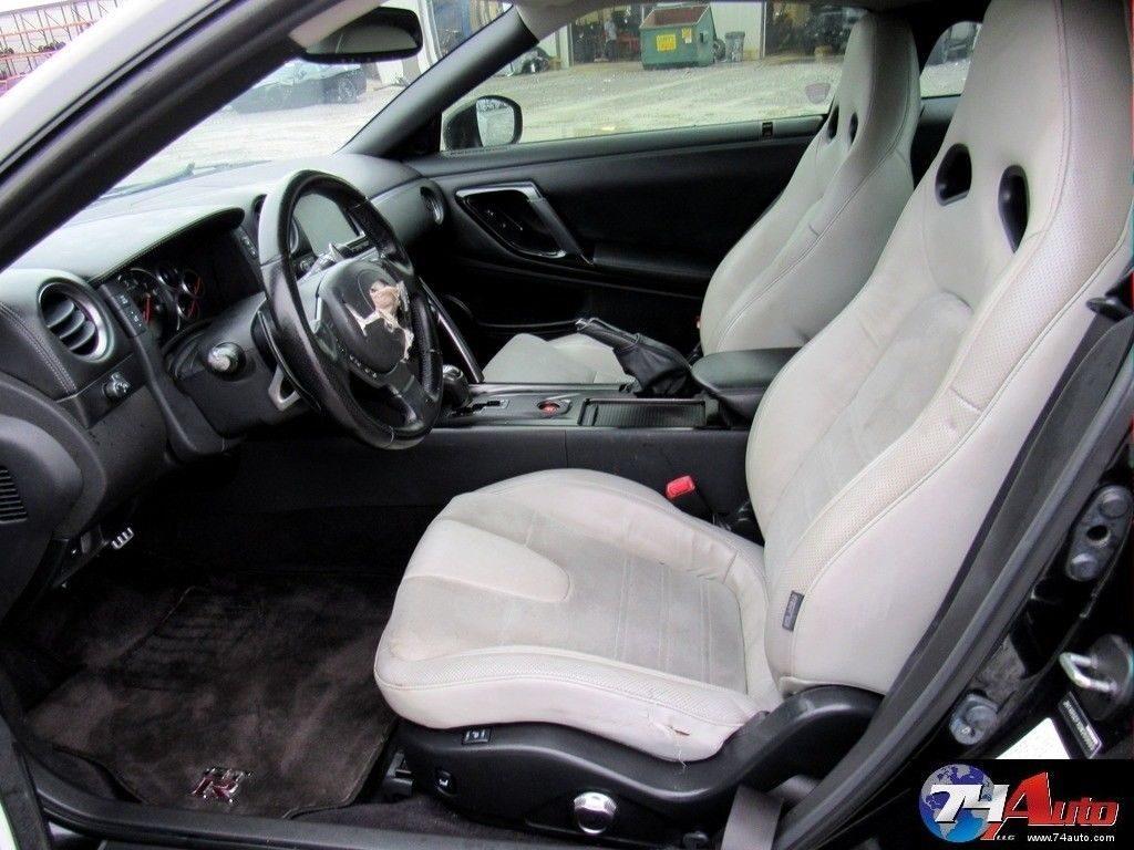 low miles 2013 Nissan GT R Premium Repairable