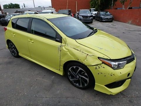 low miles 2017 Toyota Corolla Damaged Wrecked Repairable for sale