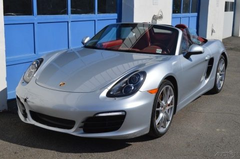 minor front damage 2014 Porsche Boxster S repairable for sale