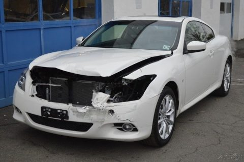 very low miles 2014 Infiniti Q60 repairable for sale