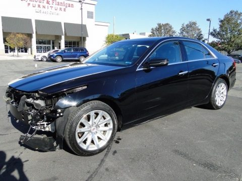 front damage 2014 Cadillac CTS 2.0L Turbo Luxury repairable for sale