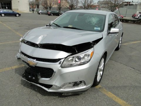front hit 2016 Chevrolet Malibu LTZ repairable for sale