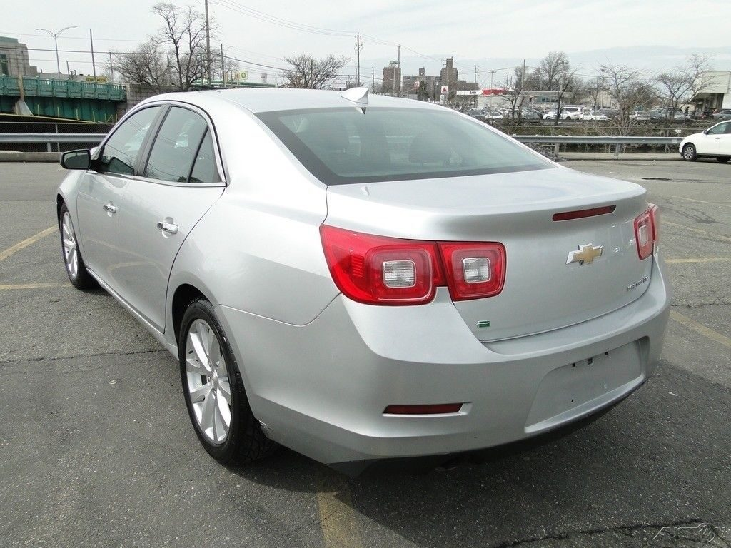 front hit 2016 Chevrolet Malibu LTZ repairable