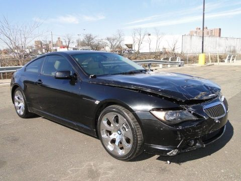 light crash 2007 BMW 6 Series i Repairable for sale
