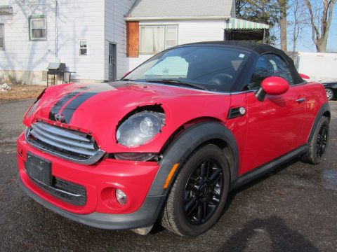 light damage 2012 Mini Roadster Roadster repairable for sale