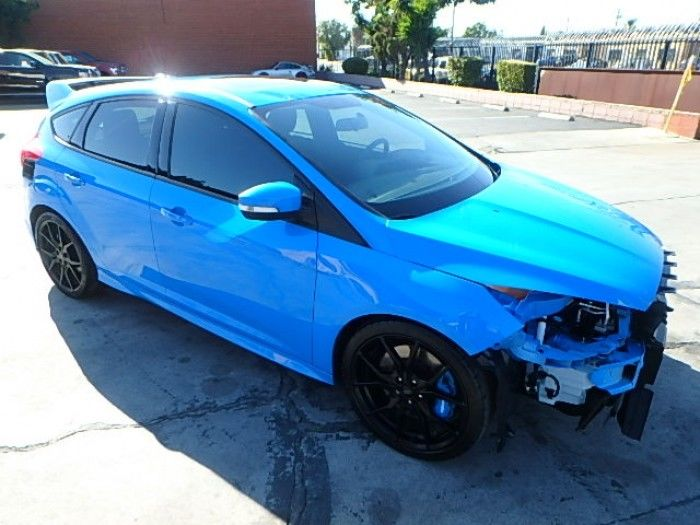 low miles 2017 Ford Focus RS Hatch repairable