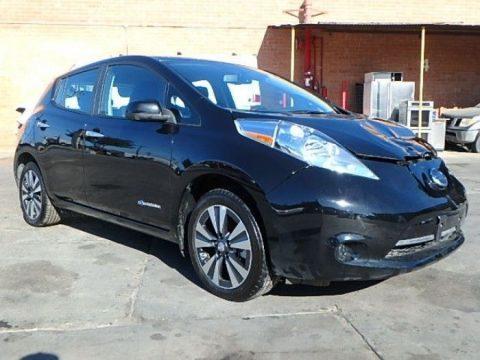 minor damage 2015 Nissan Leaf SV repairable for sale