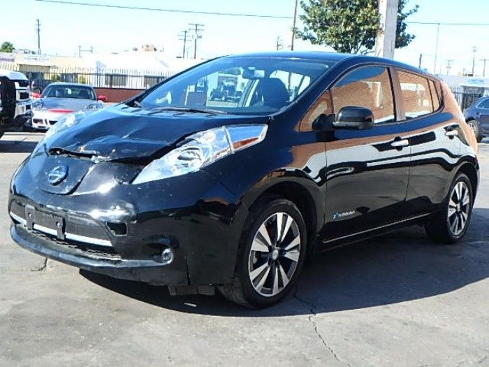 minor damage 2015 Nissan Leaf SV repairable