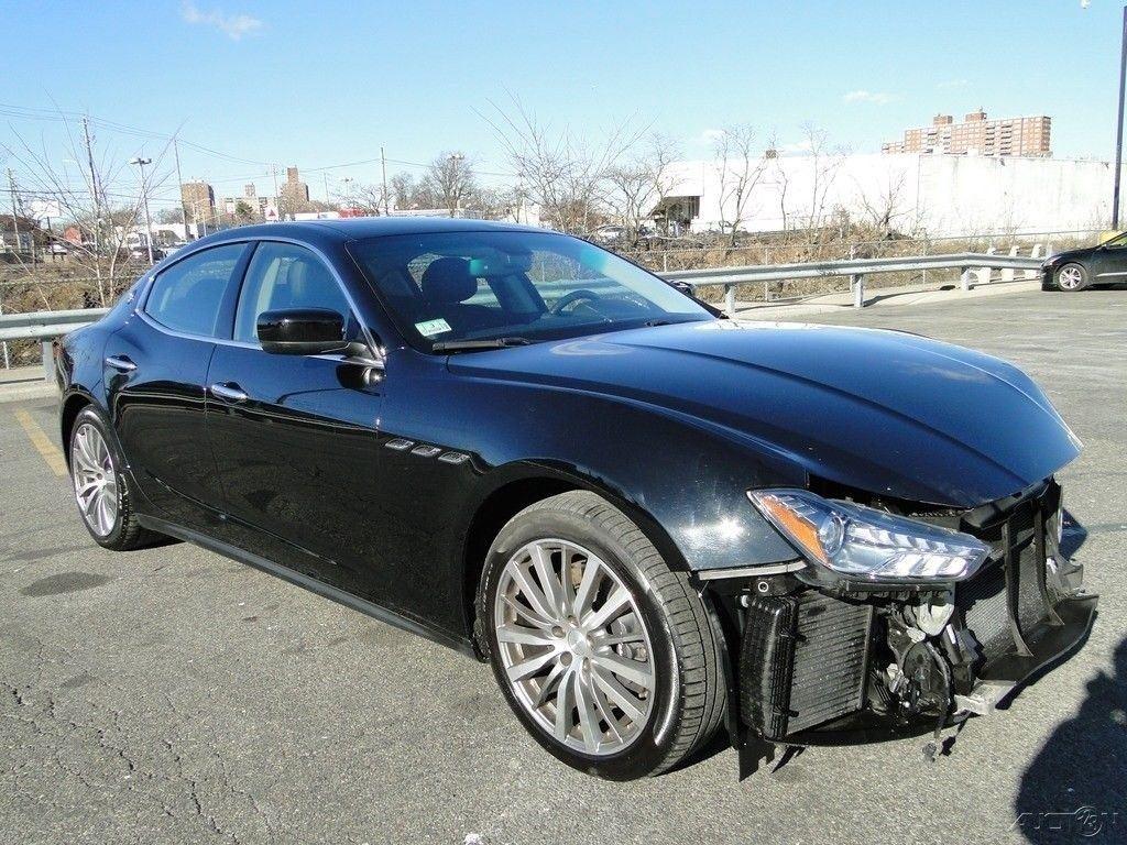 very low mileage 2016 Maserati Ghibli S Q4 Repairable for sale