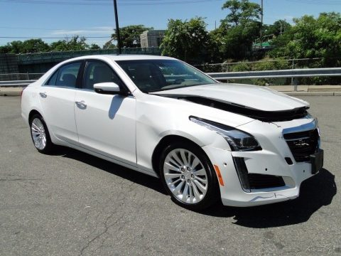very low miles Performance Collection 2016 Cadillac CTS Repairable for sale