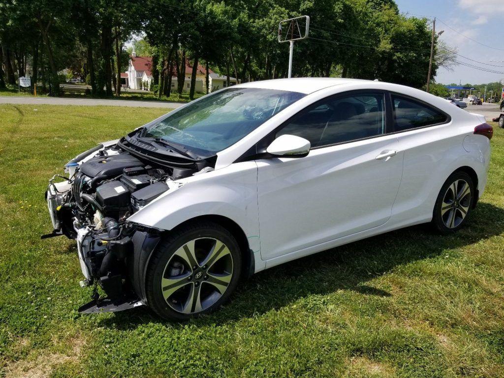 loaded 2014 Hyundai Elantra COUPE repairable