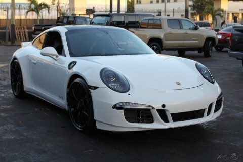 loaded 2016 Porsche 911 Carrera GTS repairable for sale