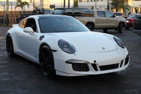 loaded 2016 Porsche 911 Carrera GTS repairable for sale
