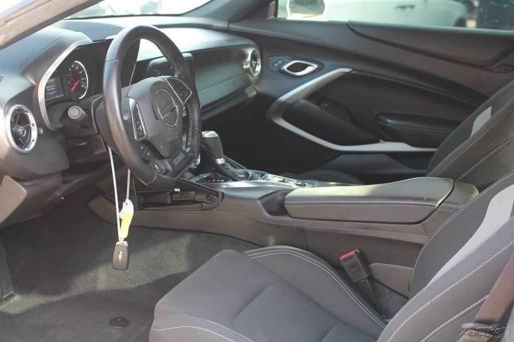 low mileage 2017 Chevrolet Camaro LT 2dr Coupe repairable