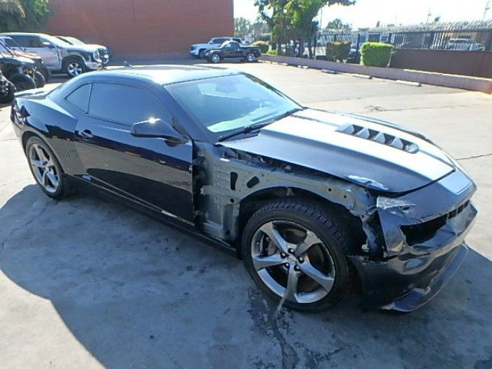 low miles 2014 Chevrolet Camaro SS Coupe Super Sport repairable