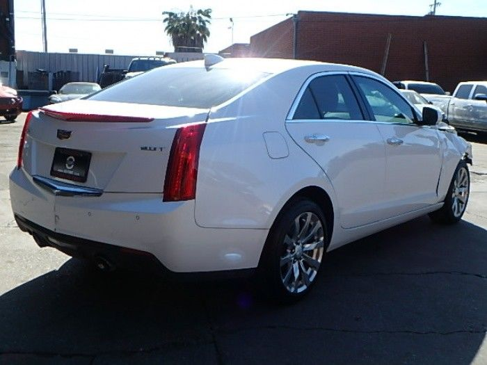 2017 Cadillac Ct6 2.0 L Turbo Luxury >> Luxurious 2018 Cadillac ATS 2.0L repairable for sale