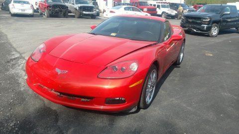 minor damage 2012 Chevrolet Corvette super low miles repairable for sale