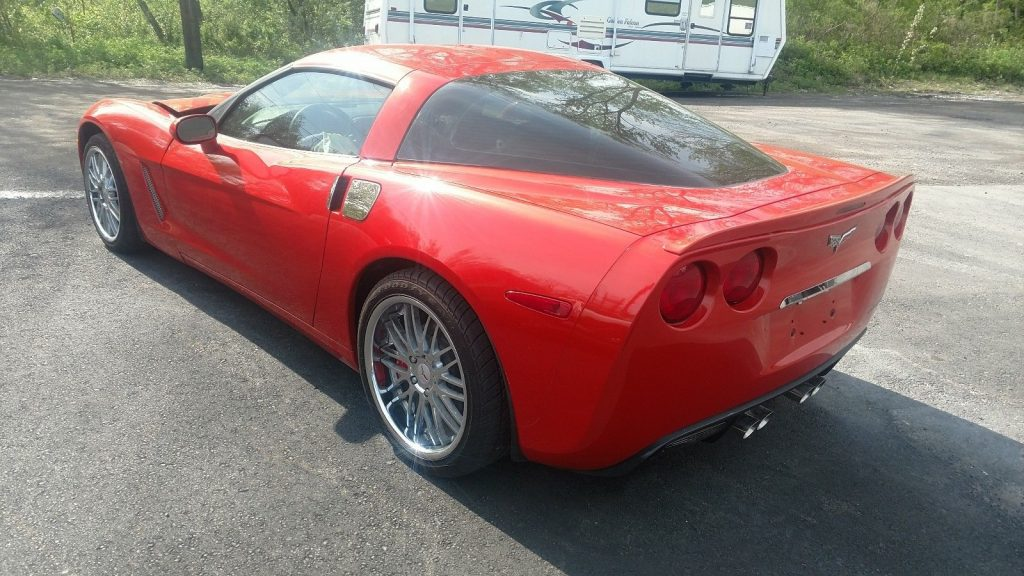 minor damage 2012 Chevrolet Corvette super low miles repairable