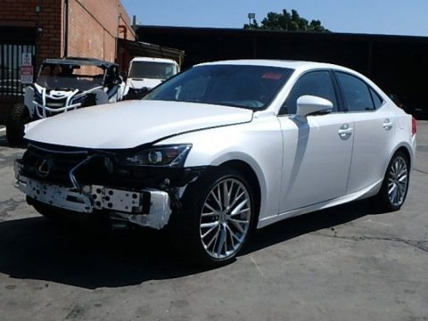 sleek 2018 Lexus IS 200t repairable for sale