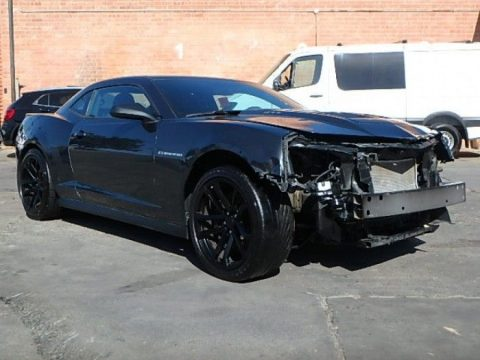 Supercharged 2014 Chevrolet Camaro ZL1 repairable for sale