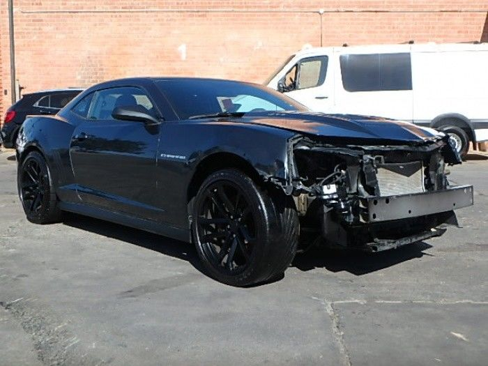 Supercharged 2014 Chevrolet Camaro ZL1 repairable
