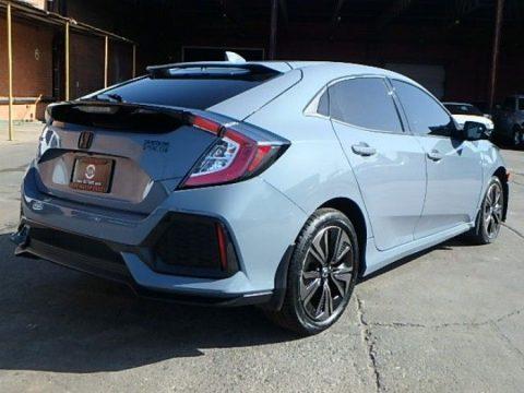 very low miles 2017 Honda Civic EX repairable for sale