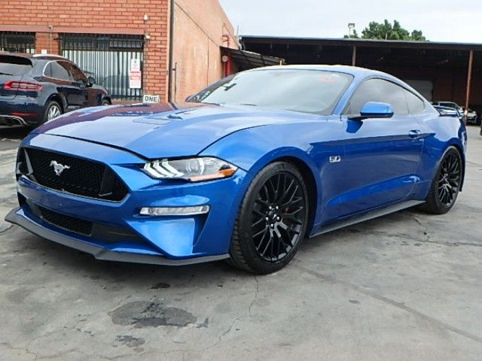 very low miles 2018 Ford Mustang GT repairable