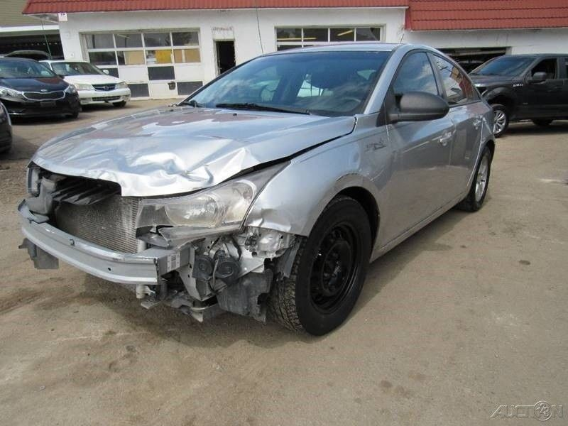 front hit 2014 Chevrolet Cruze LS repairable