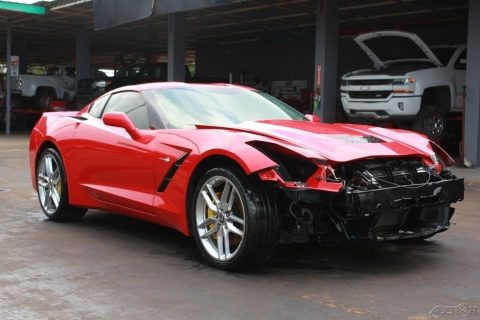 loaded 2015 Chevrolet Corvette Stingray Z51 repairable for sale