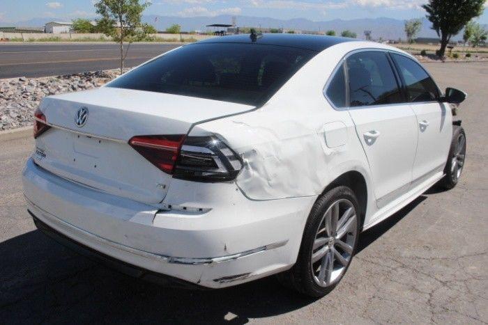loaded 2017 Volkswagen Passat R Line Repairable