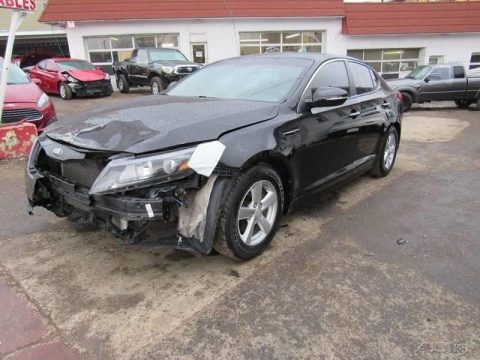 low mileage 2014 Kia Optima LX repairable for sale