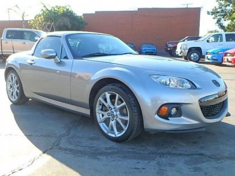 power hard top 2015 Mazda MX 5 Miata Grand Touring repairable for sale